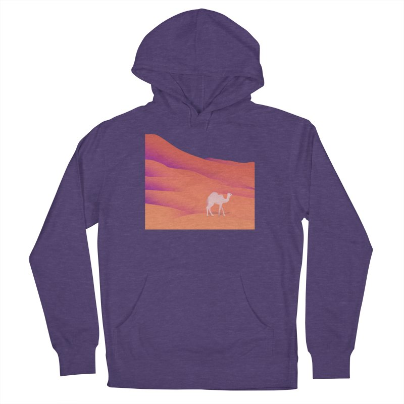 Desert Men's French Terry Pullover Hoody by theladyernestember's Artist Shop