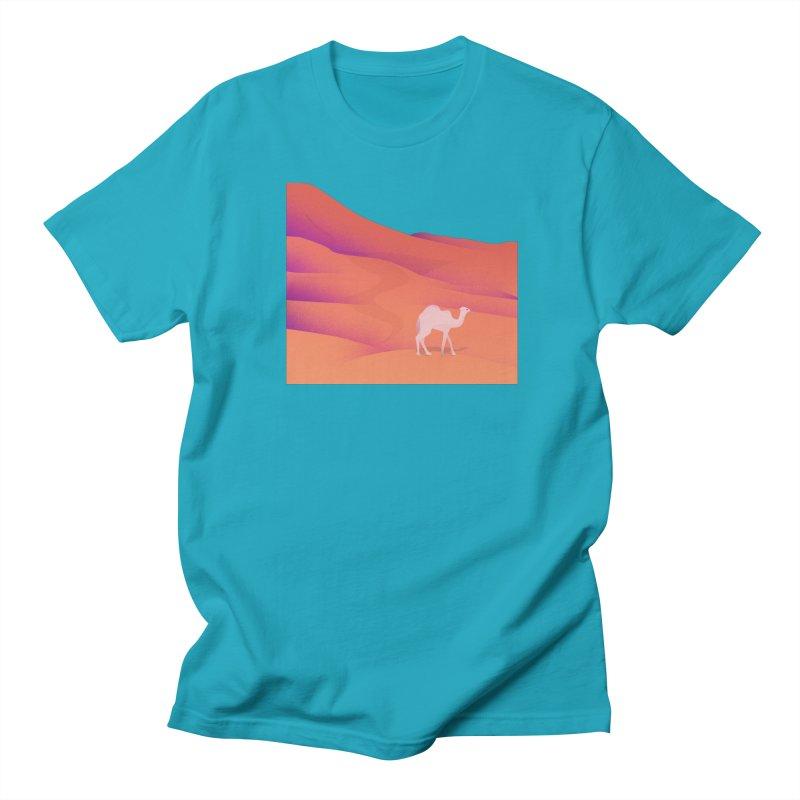 Desert Men's Regular T-Shirt by theladyernestember's Artist Shop