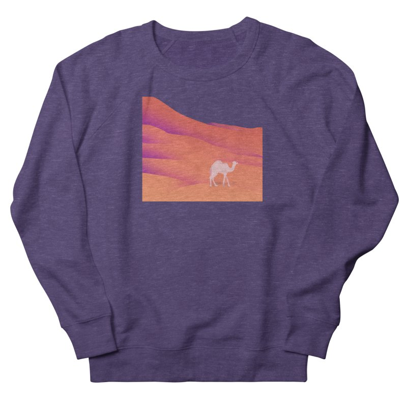 Desert Men's French Terry Sweatshirt by theladyernestember's Artist Shop