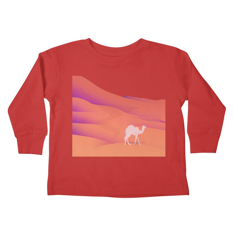 Desert Kids Toddler Longsleeve T-Shirt by theladyernestember's Artist Shop