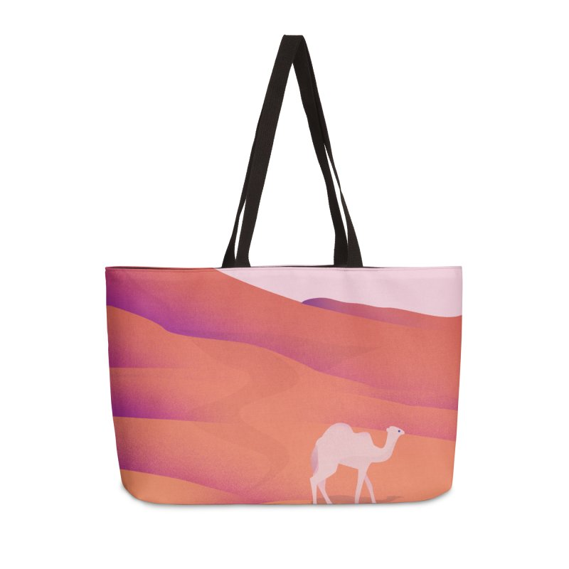 Desert Accessories Weekender Bag Bag by theladyernestember's Artist Shop