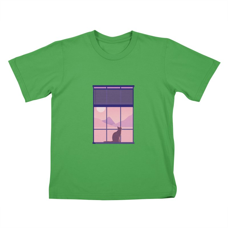 Cat Kids T-Shirt by theladyernestember's Artist Shop
