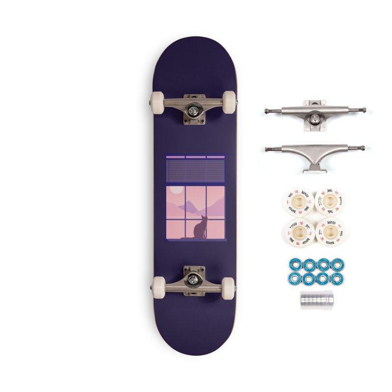 Cat Accessories Complete - Premium Skateboard by theladyernestember's Artist Shop