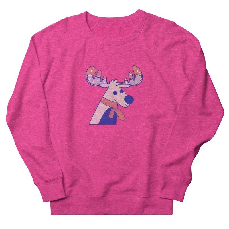 Reindeer Men's French Terry Sweatshirt by theladyernestember's Artist Shop