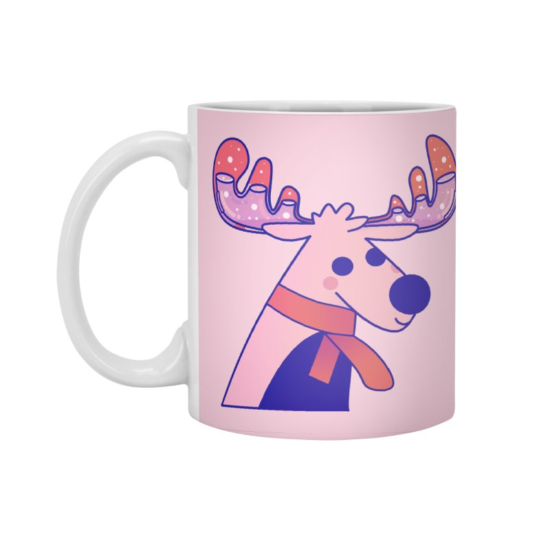 Reindeer Accessories Mug by theladyernestember's Artist Shop