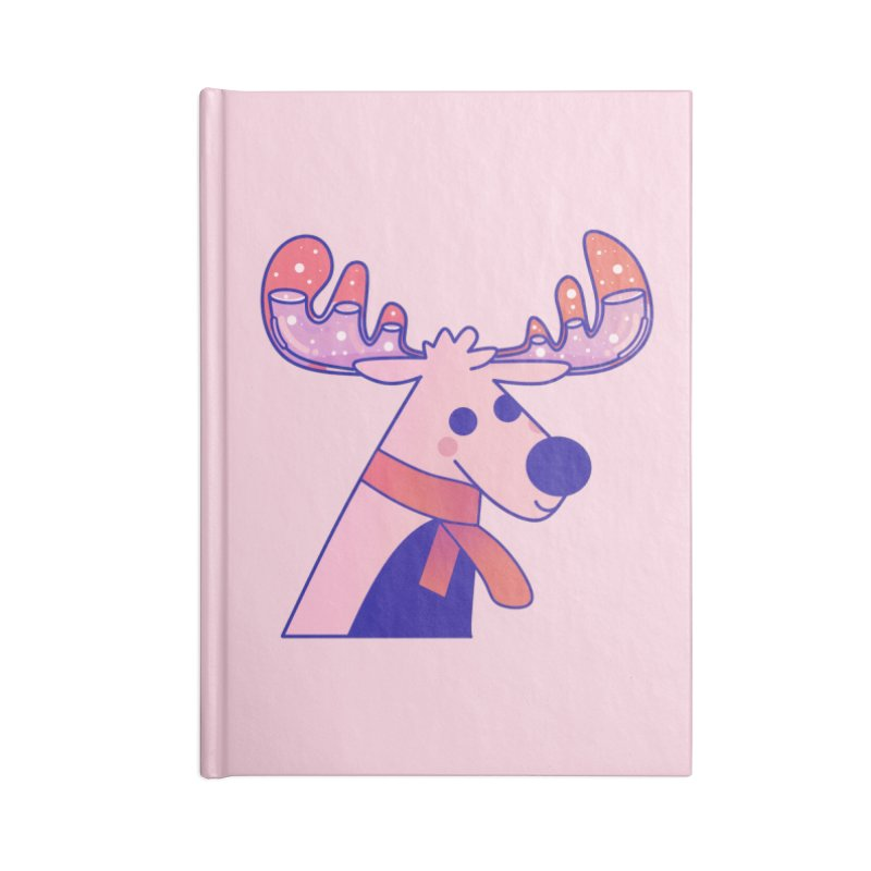 Reindeer Accessories Blank Journal Notebook by theladyernestember's Artist Shop