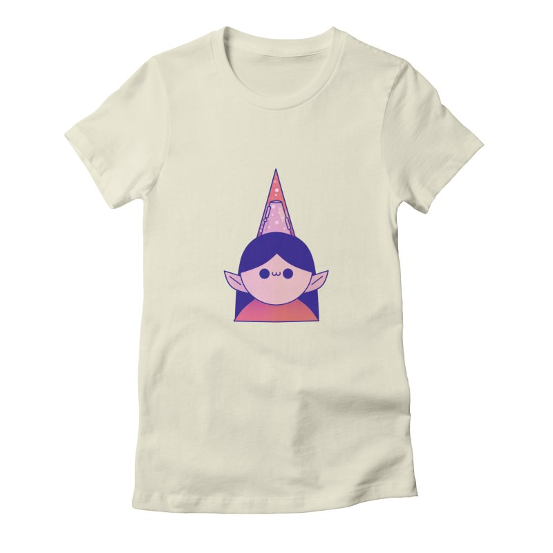 Elf Women's Fitted T-Shirt by theladyernestember's Artist Shop