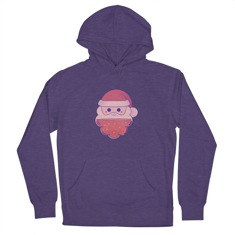 Santa Claus Men's French Terry Pullover Hoody by theladyernestember's Artist Shop