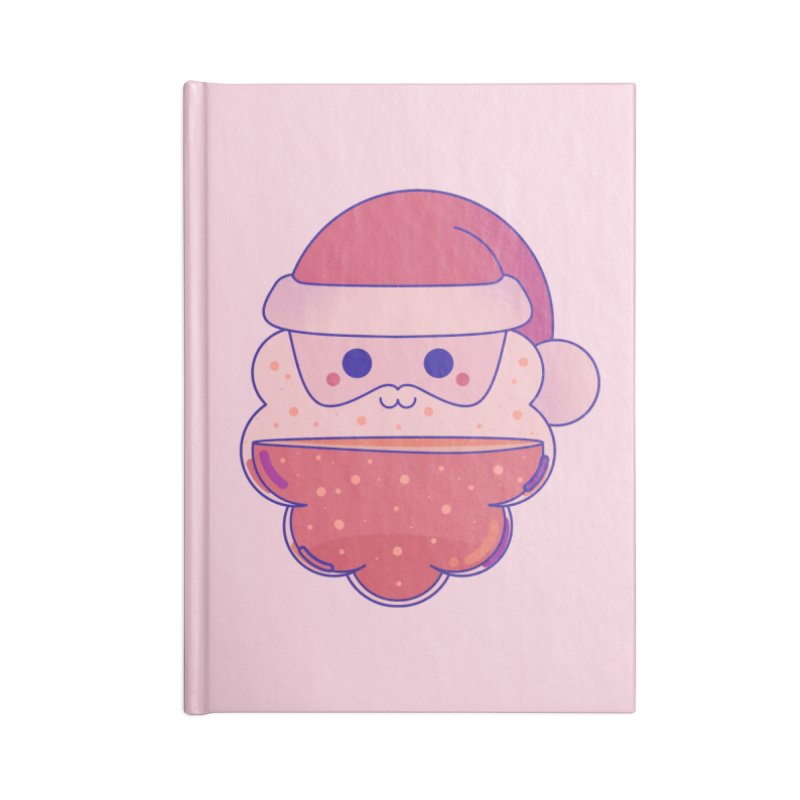 Santa Claus Accessories Notebook by theladyernestember's Artist Shop