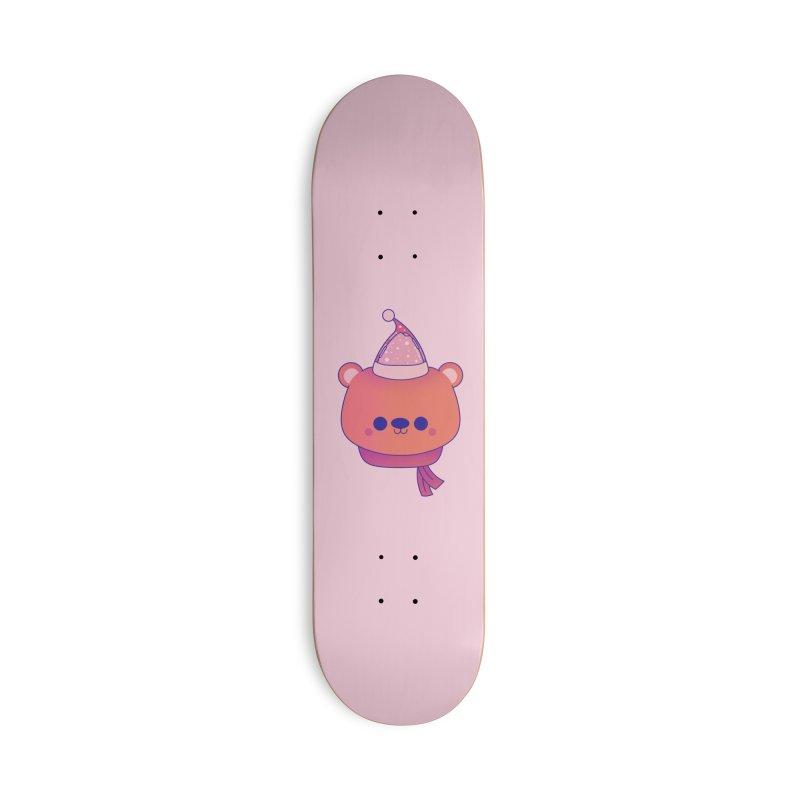 Polar Bear Accessories Deck Only Skateboard by theladyernestember's Artist Shop