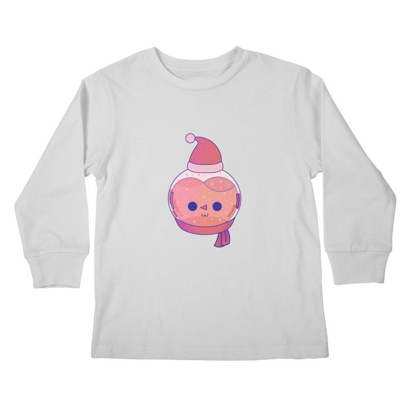 Snowman Kids Longsleeve T-Shirt by theladyernestember's Artist Shop