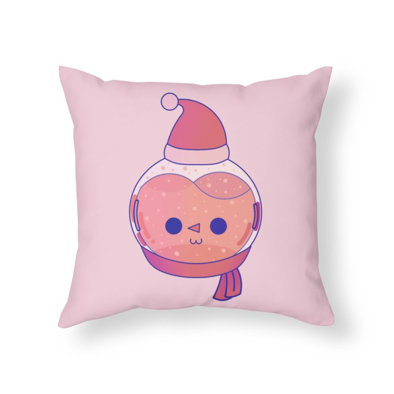 Snowman Home Throw Pillow by theladyernestember's Artist Shop