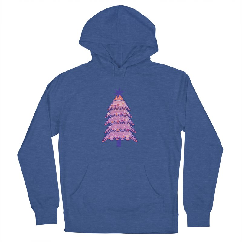 Christmas Tree Men's French Terry Pullover Hoody by theladyernestember's Artist Shop