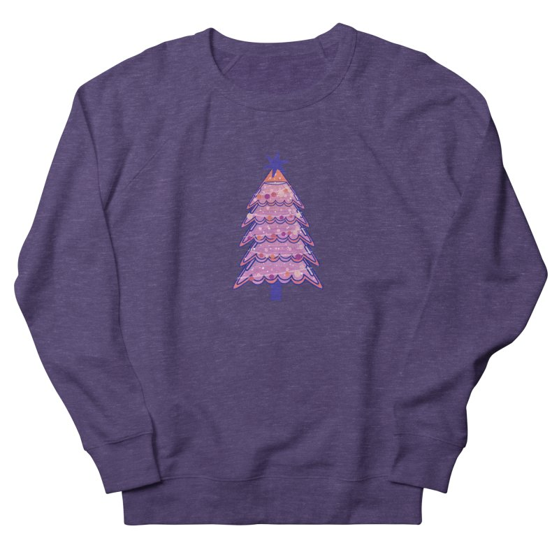 Christmas Tree Women's French Terry Sweatshirt by theladyernestember's Artist Shop