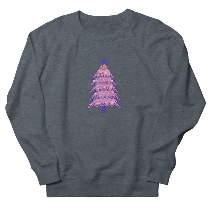 Christmas Tree Men's French Terry Sweatshirt by theladyernestember's Artist Shop