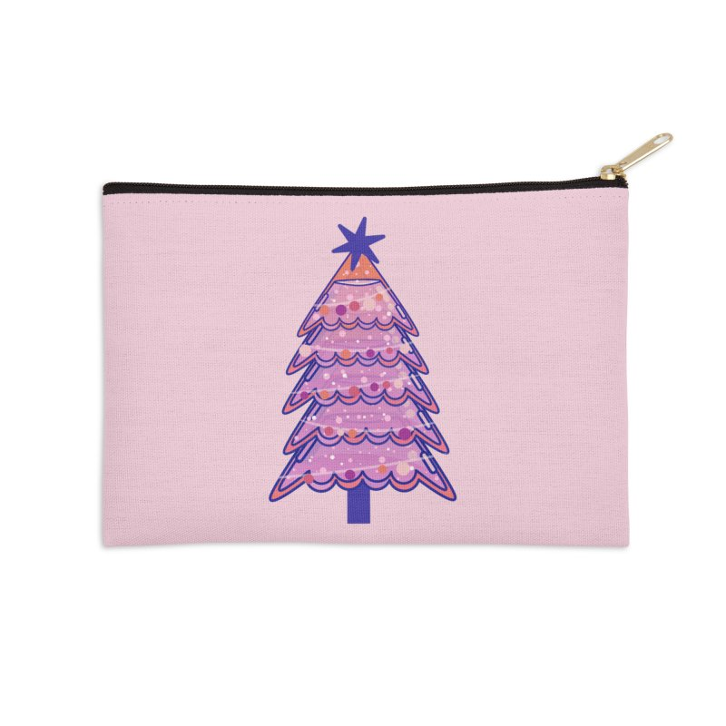 Christmas Tree Accessories Zip Pouch by theladyernestember's Artist Shop