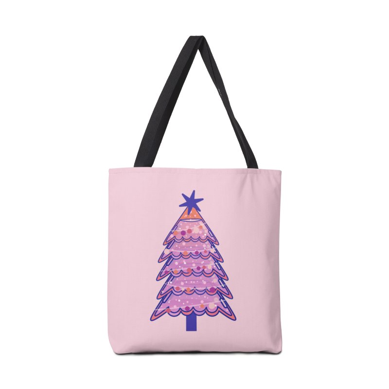 Christmas Tree Accessories Tote Bag Bag by theladyernestember's Artist Shop