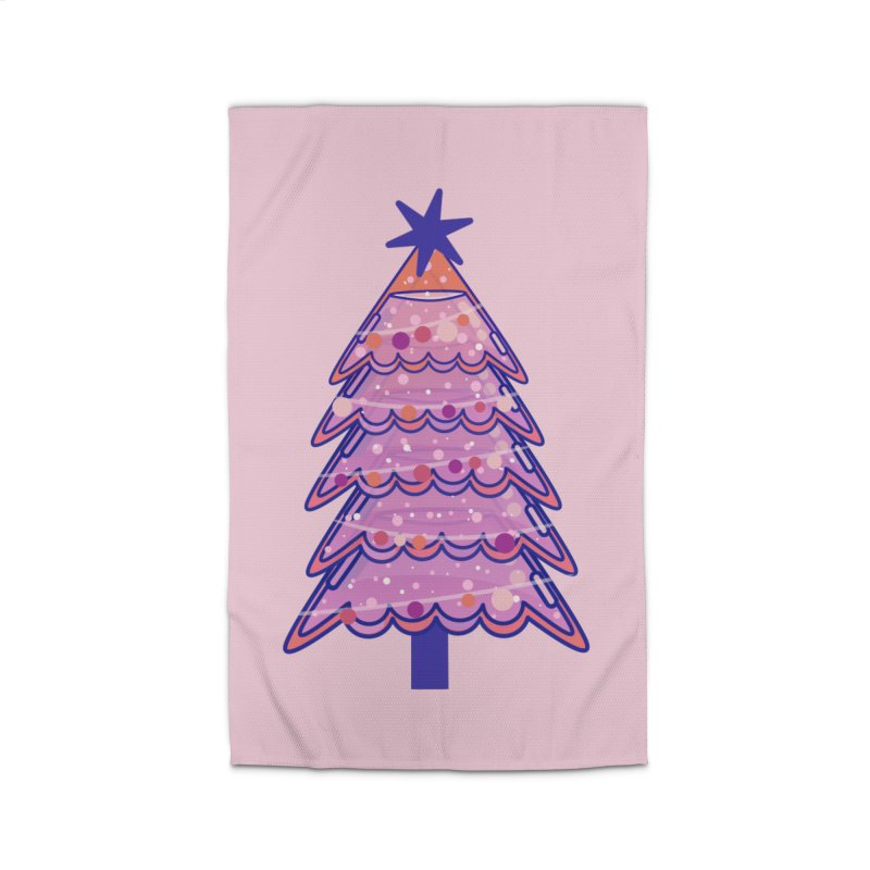 Christmas Tree Home Rug by theladyernestember's Artist Shop