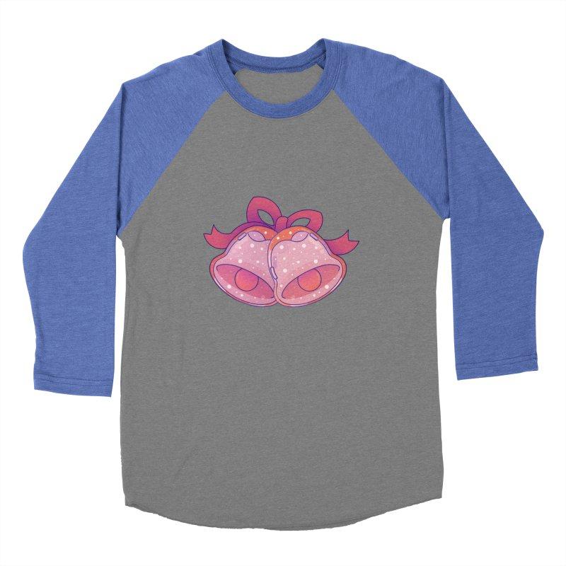 Christmas Bell Women's Baseball Triblend Longsleeve T-Shirt by theladyernestember's Artist Shop