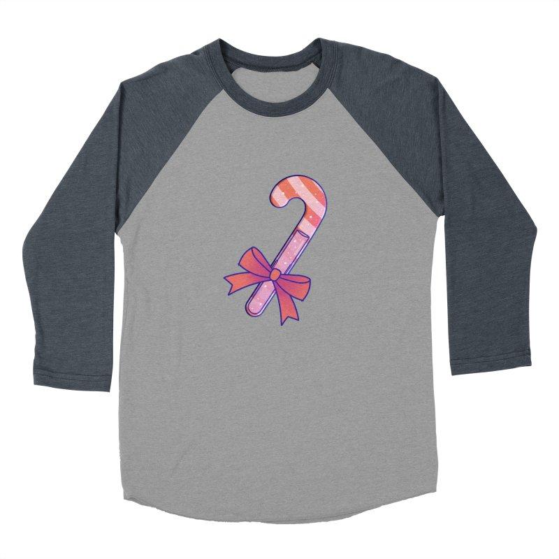 Candy Cane Women's Baseball Triblend Longsleeve T-Shirt by theladyernestember's Artist Shop