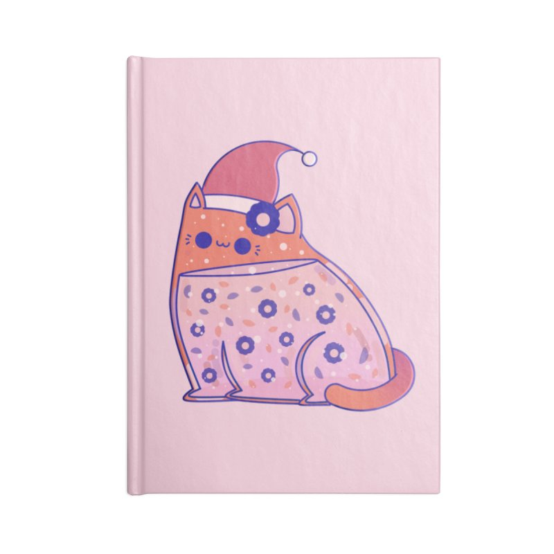 Christmas Cat Accessories Notebook by theladyernestember's Artist Shop