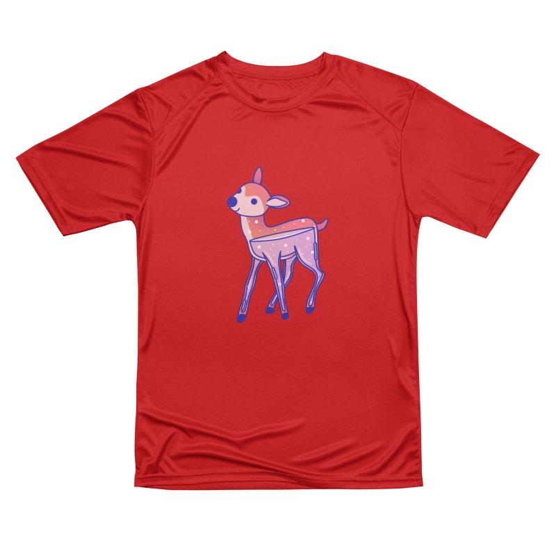 Deer Women's Performance Unisex T-Shirt by theladyernestember's Artist Shop
