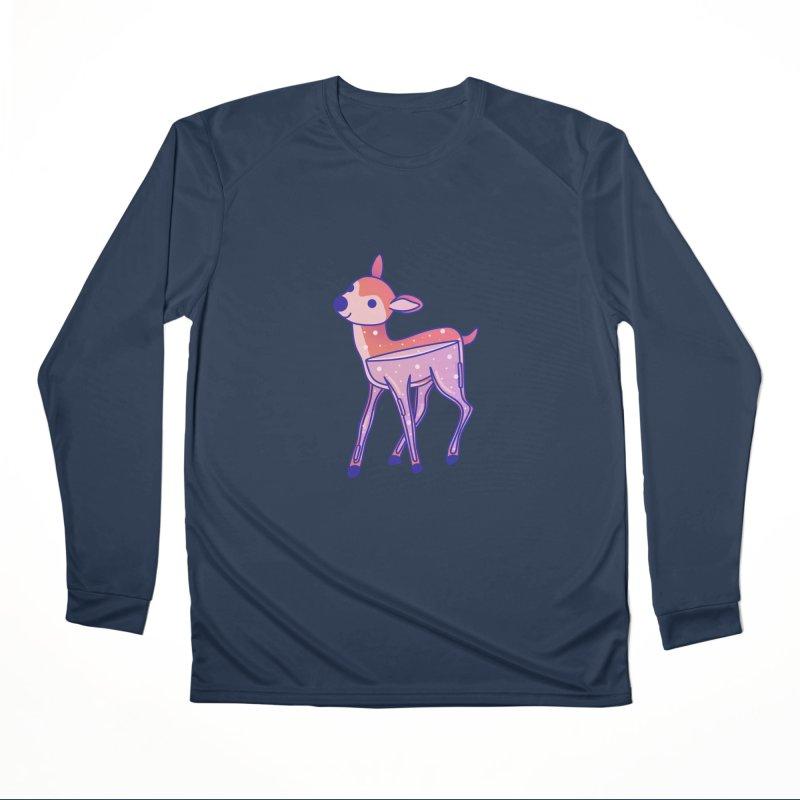 Deer Men's Performance Longsleeve T-Shirt by theladyernestember's Artist Shop