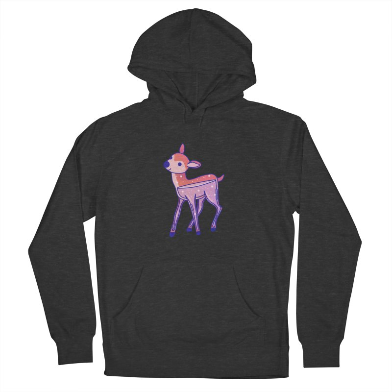 Deer Women's French Terry Pullover Hoody by theladyernestember's Artist Shop