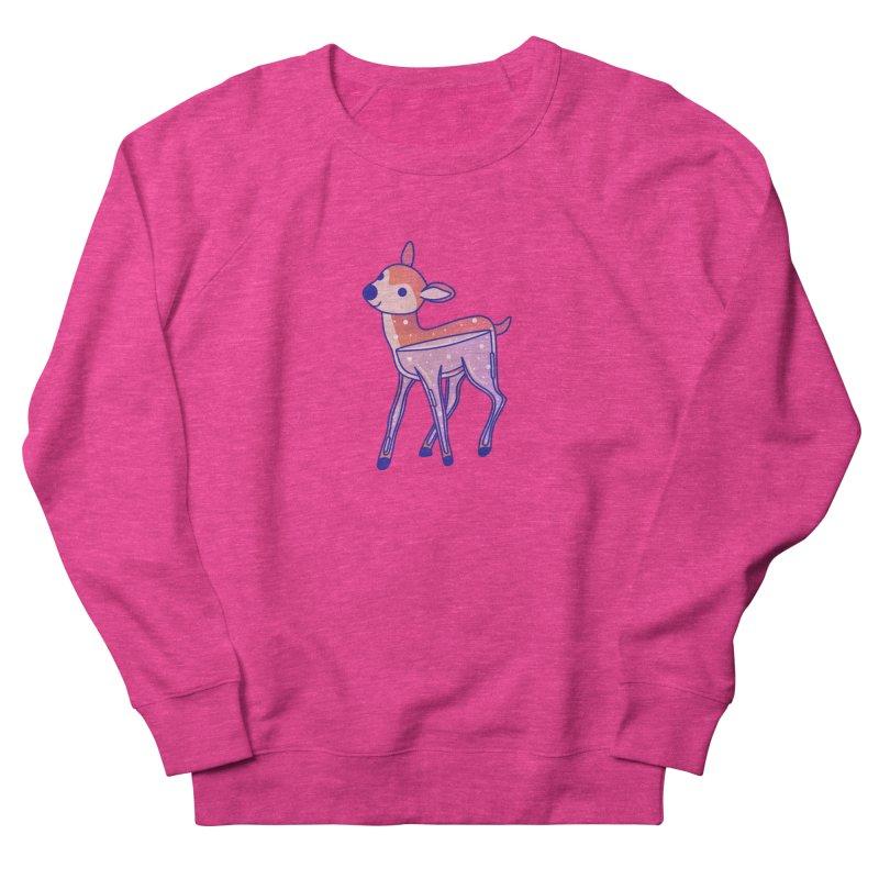 Deer Men's French Terry Sweatshirt by theladyernestember's Artist Shop