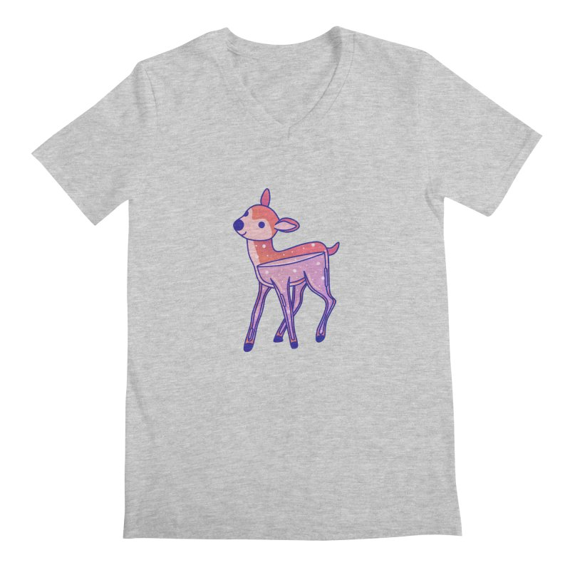 Deer Men's Regular V-Neck by theladyernestember's Artist Shop