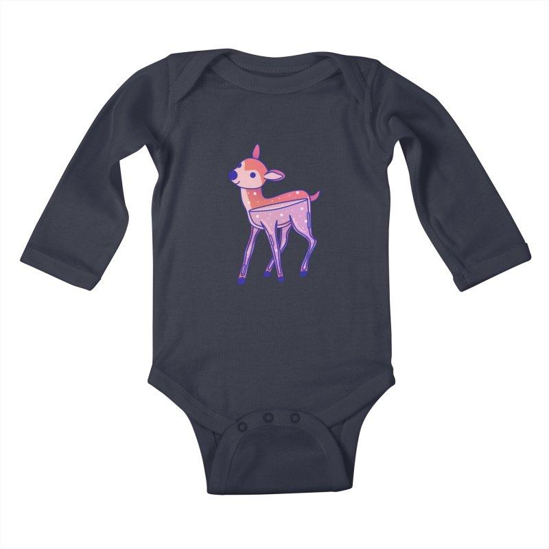 Deer Kids Baby Longsleeve Bodysuit by theladyernestember's Artist Shop