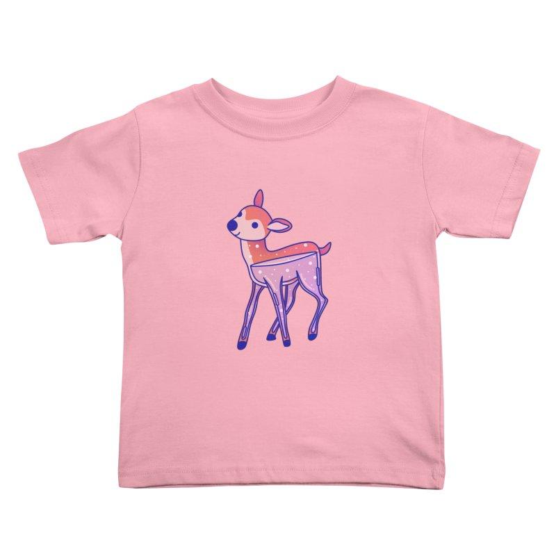 Deer Kids Toddler T-Shirt by theladyernestember's Artist Shop