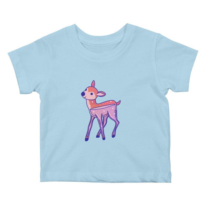 Deer Kids Baby T-Shirt by theladyernestember's Artist Shop