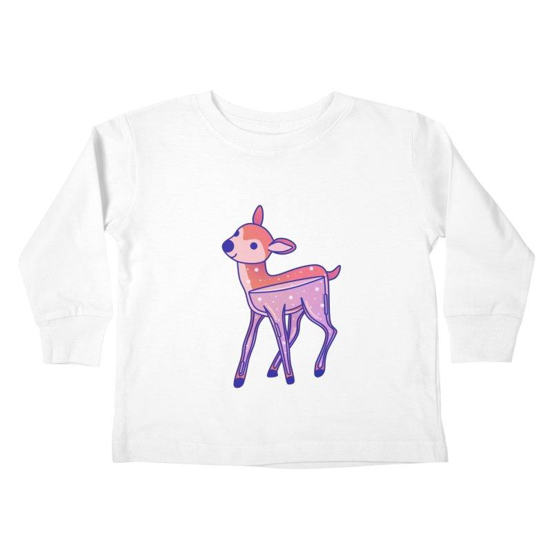 Deer Kids Toddler Longsleeve T-Shirt by theladyernestember's Artist Shop