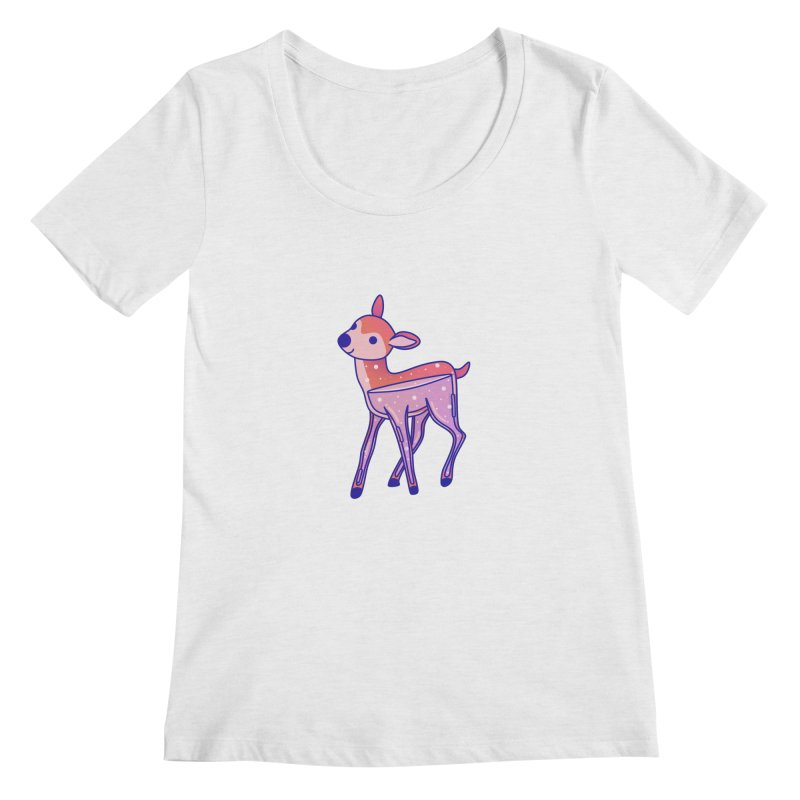 Deer Women's Scoop Neck by theladyernestember's Artist Shop