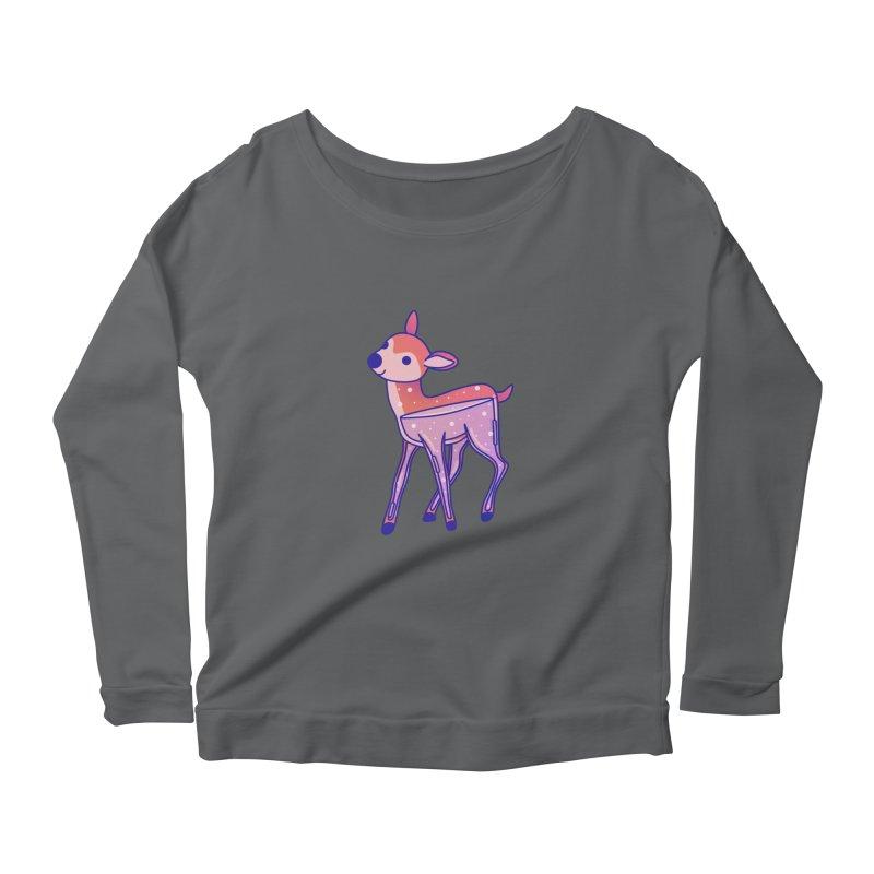 Deer Women's Longsleeve T-Shirt by theladyernestember's Artist Shop