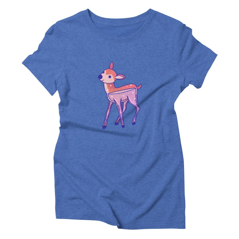 Deer Women's Triblend T-Shirt by theladyernestember's Artist Shop