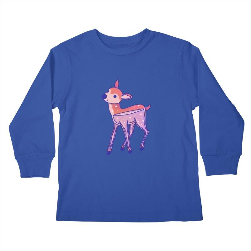 Deer Kids Longsleeve T-Shirt by theladyernestember's Artist Shop