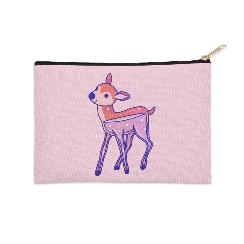 Deer Accessories Zip Pouch by theladyernestember's Artist Shop