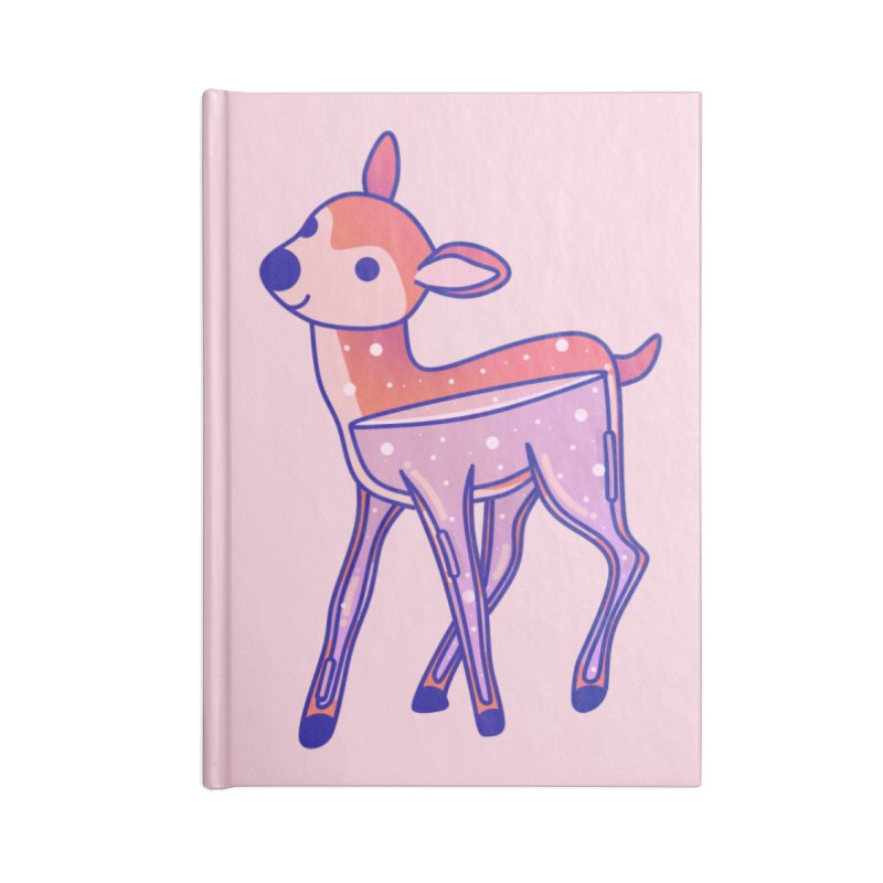 Deer Accessories Lined Journal Notebook by theladyernestember's Artist Shop