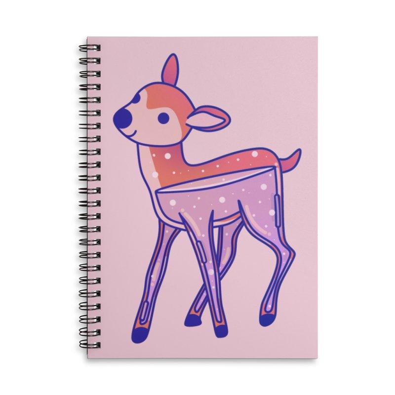 Deer Accessories Lined Spiral Notebook by theladyernestember's Artist Shop
