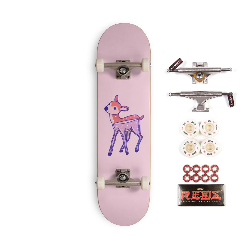 Deer Accessories Complete - Pro Skateboard by theladyernestember's Artist Shop