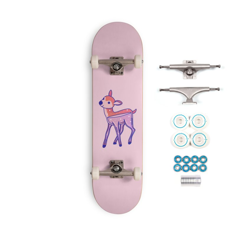 Deer Accessories Complete - Basic Skateboard by theladyernestember's Artist Shop