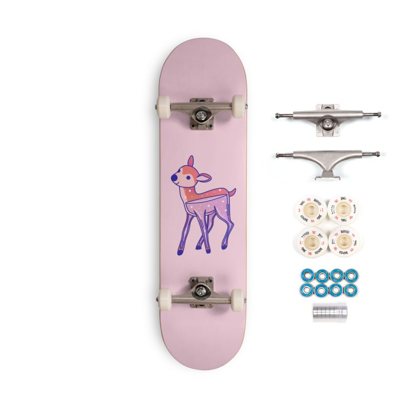 Deer Accessories Complete - Premium Skateboard by theladyernestember's Artist Shop