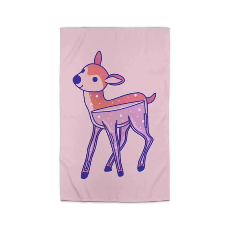 Deer Home Rug by theladyernestember's Artist Shop