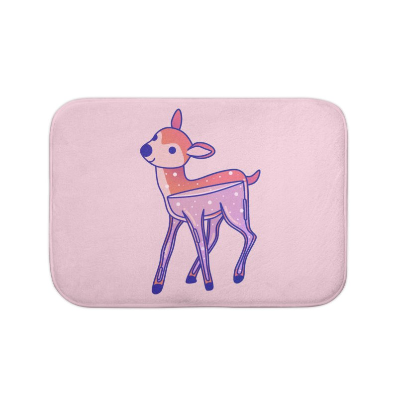 Deer Home Bath Mat by theladyernestember's Artist Shop