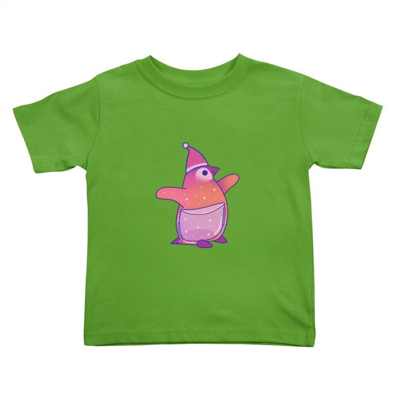 Christmas Penguin Kids Toddler T-Shirt by theladyernestember's Artist Shop