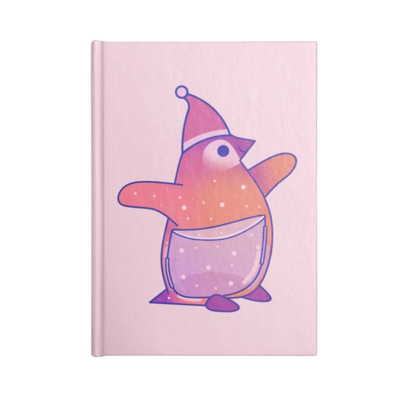 Christmas Penguin Accessories Notebook by theladyernestember's Artist Shop