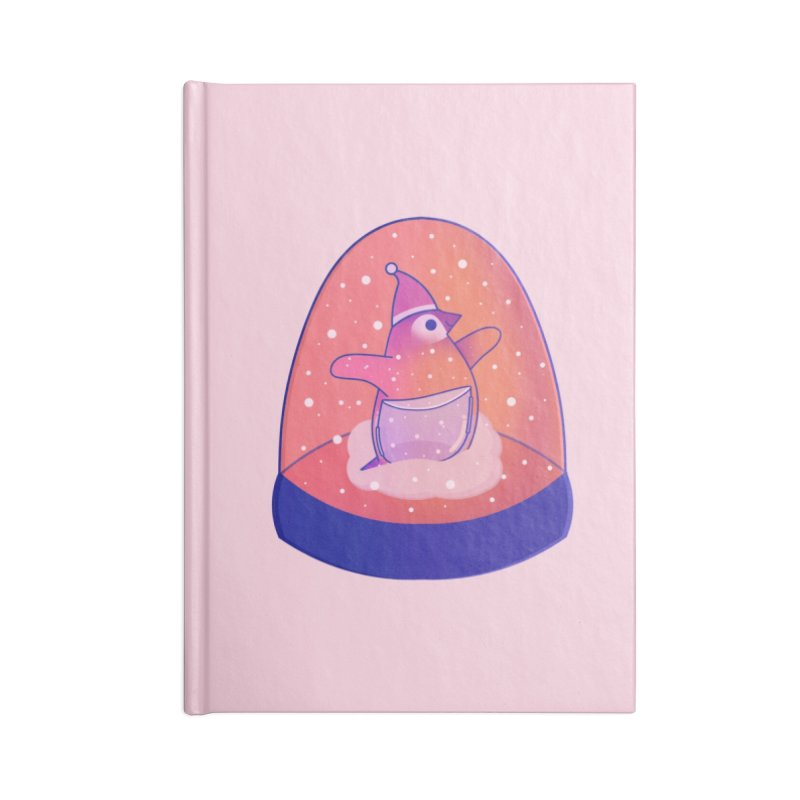 Snow Globe Accessories Lined Journal Notebook by theladyernestember's Artist Shop