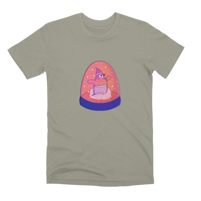 Snow Globe Men's Premium T-Shirt by theladyernestember's Artist Shop